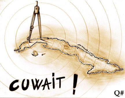 """Noticia:""""...Repsol no encuentra petróleo y se marcha de Cuba..."""" Conexión Quimérica: * """"...ES UN POZO DE PETRÓLEO...?...ES UN RASCACIELOS DE DISEÑO...?...ES UN COMPÁS DE ESPERA...!!!""""(CUBA WAIT AND SEE)-Obra a lápiz grafito/papel reciclado-27x21 cm © QUIM PANEQUE-Q#-""""Quiméricas"""""""