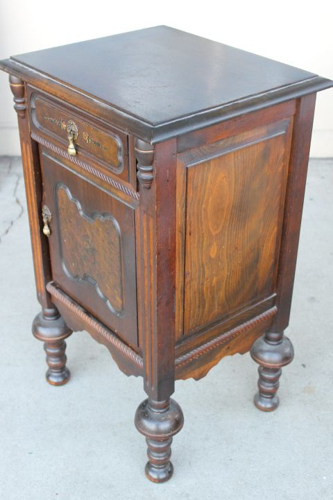 1930s Cushman Smoker Makes A Perfect Bedside Table