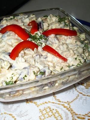 Салат с курицей и фасолью от Aleex