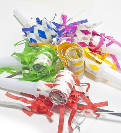Party Blowers - perfect for Australia Day celebrations