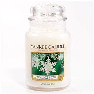 L Jar-Sparkling Snow  En doft av frisk, naturlig doft av gnistrande, snötäckta granar.