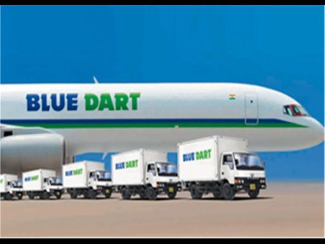 Blue dart courier tracking number