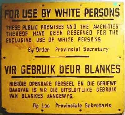 "Apartheid is an afrikaans word meaning ""seperateness"" - it was a legal system whereby people were classified into racial groups - White, Black, Indian and Coloured; and seperate geographic areas were demarcated for each racial group. Apartheid laws were part of South Africa's legal framework from 1948 to 1994."
