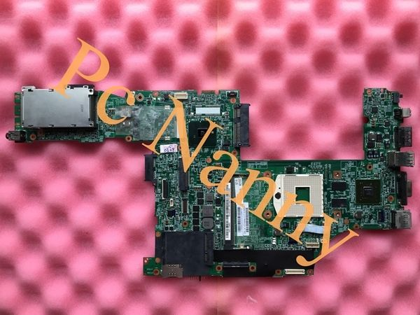 85.00$  Watch here - http://ali13e.worldwells.pw/go.php?t=32313380242 - Original 75Y4108 48.4CU06.031 Laptop Motherboard for Lenovo T510 series system board QM57 with graphics test before shipment 85.00$