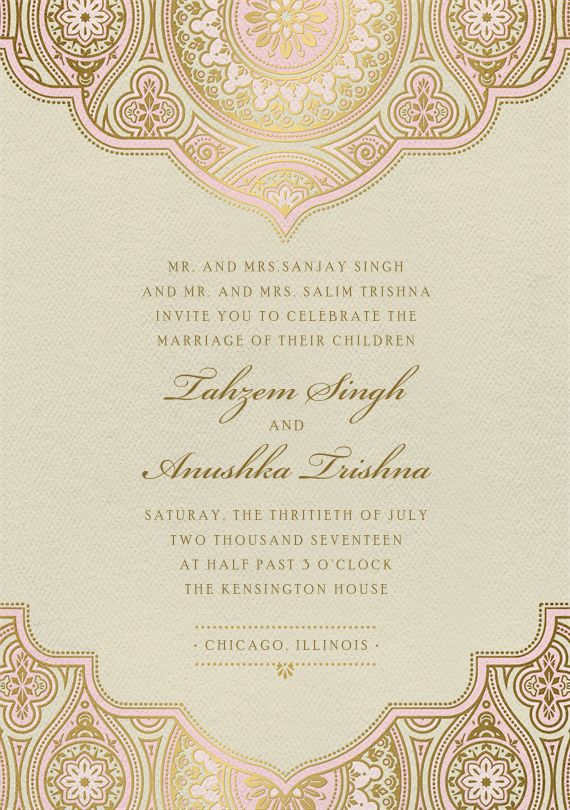 The 25+ best Indian wedding invitation wording ideas on Pinterest - free engagement invitation templates