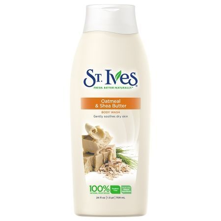 St. Ives Nourish and Soothe Body Wash, Oatmeal and Shea Butter - 24 oz.