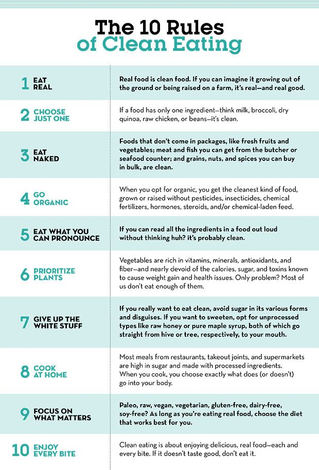 How to Eat Clean: 10 Rules to Follow  http://www.eatclean.com/scoops/how-to-eat-clean?cid=soc_EatCleanFeed_TWITTER_Eat%2520Clean__