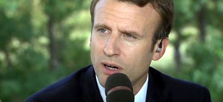 """Démission du général de Villiers : """"Ce n'est pas le rôle du chef d'état-major"""" de défendre le budget des armées, affirme Macron"""