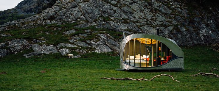 Dragons Eye | Boutique Hotel, Pop up Glamping, Wales
