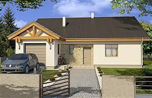 Projekt domu Ambrozja wersja A WRD2014