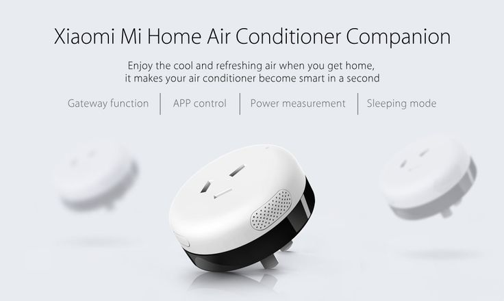 Xiaomi Mi Home Air Conditioner Companion APP Control Sleeping Mode with WiFi ZigBee Technology