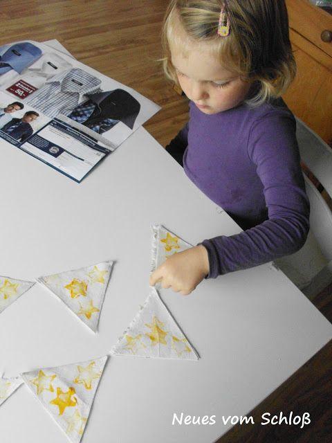 star- stamps, Basteln/ Stempeln mit Kindern