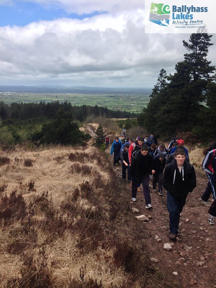 Gaisce Groups at Ballyhass Lakes Outdoor activities, mallow, co.cork Ireland