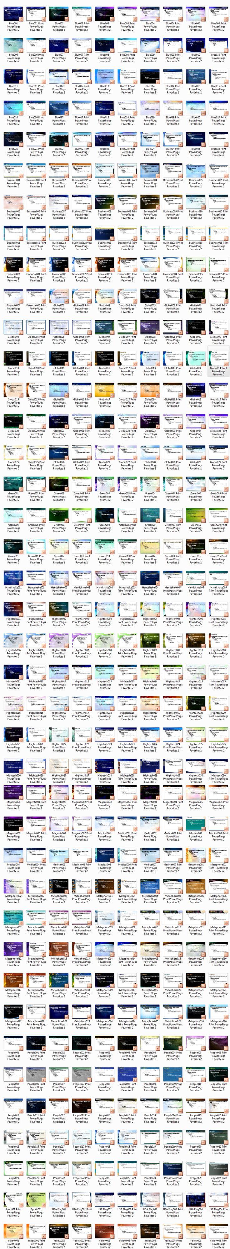 400 قالب بور بوينت PowerPlugs Ultimate Edition for MS Power Point - Templates - قوالب بوربوينت - قوالب تمبليت - تصاميم جاهزة