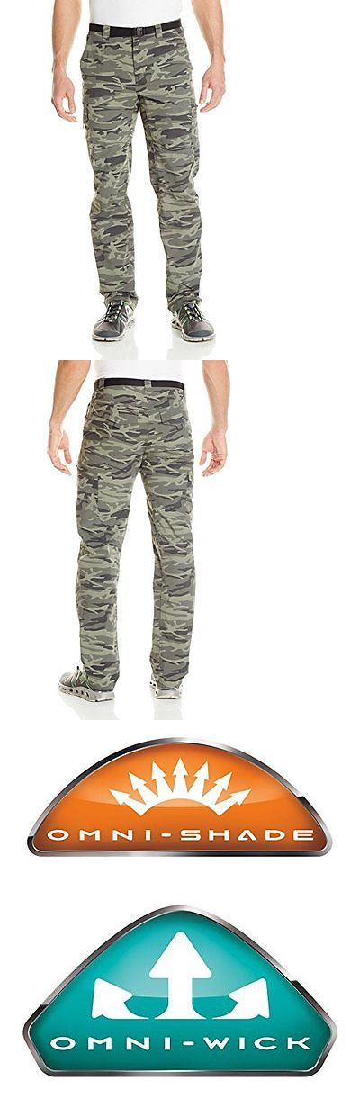 Pants and Shorts 181360: Columbia Mens Silver Ridge Printed Cargo Pant, Gravel Camo Print, 34 X 32 BUY IT NOW ONLY: $37.37