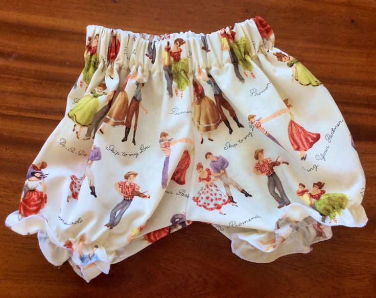 Martha Stewart bloomers. I love this free pattern. See Lucinda in the spotted ones with sailor print ruffle singlet in other photo on this board.