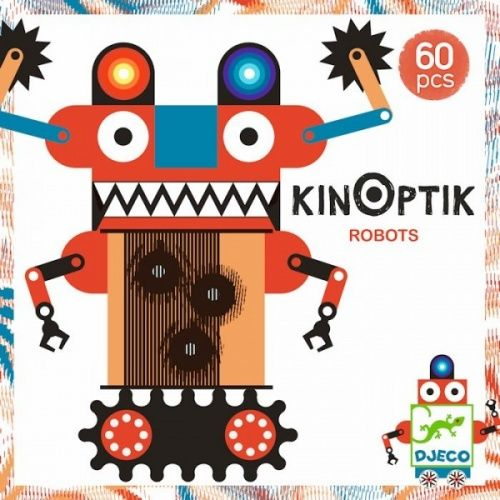 Optikai puzzle robotos- Kinoptik Robots Djeco-Újdonság | Pandatanoda.hu Játék webáruház