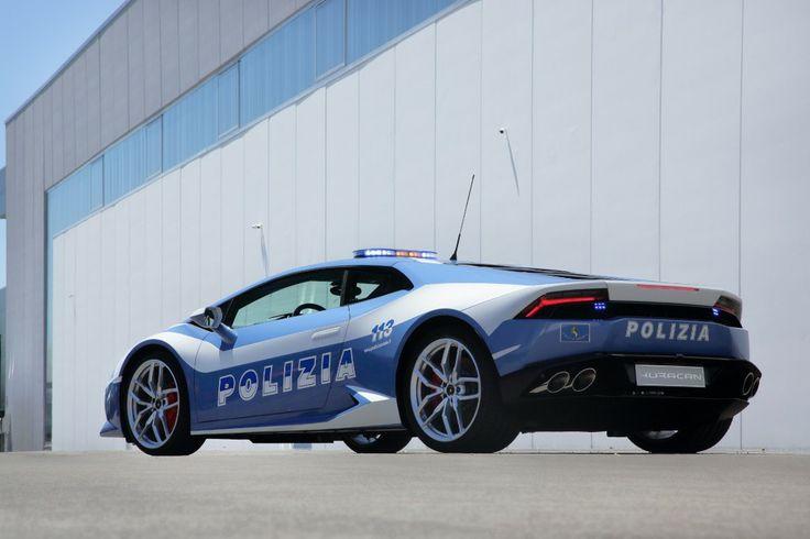 Italian State Police Get Their Own Lamborghini Huracán