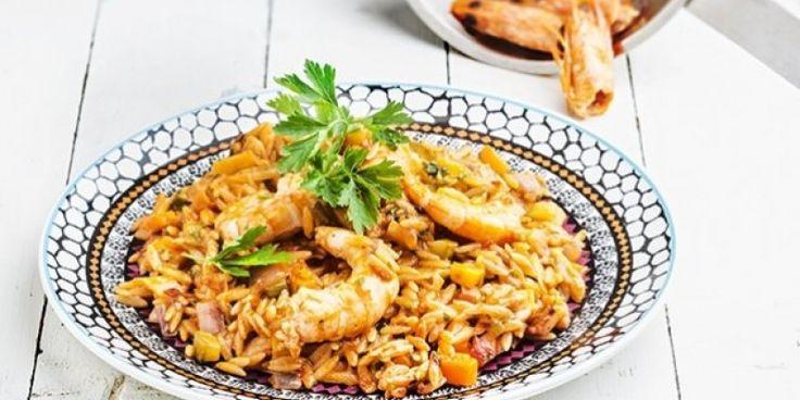 Γιουβέτσι με γαρίδες στην κατσαρόλα