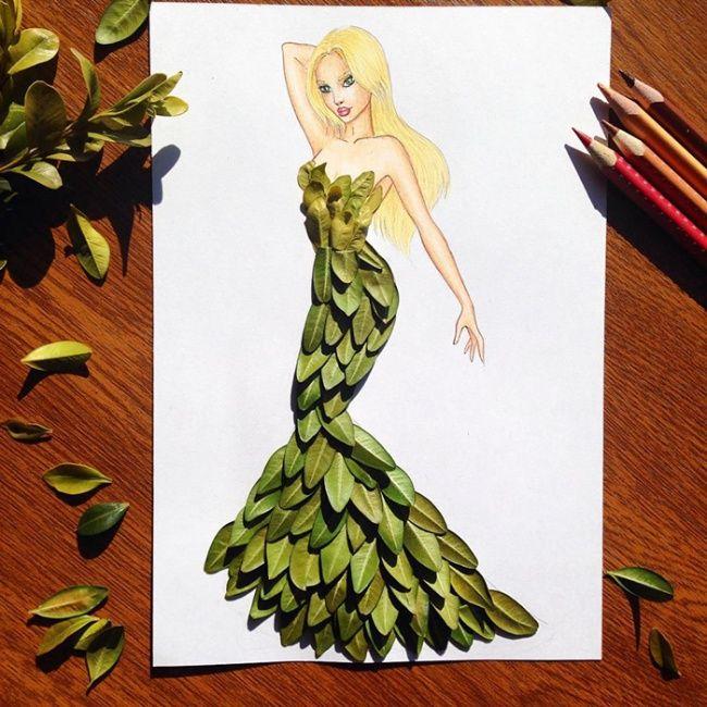Волшебные платья художника Эдгара Артиса, накоторые можно смотреть вечно