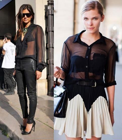El color negro se impone en este verano http://time-for-fashion.blogs.elle.es/2010/10/21/transparencias-%C2%BFsi-o-no/