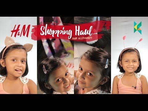 h&m Shopping haul : Hair Accessories for Kids (Girls) Fancy Hair Bands…