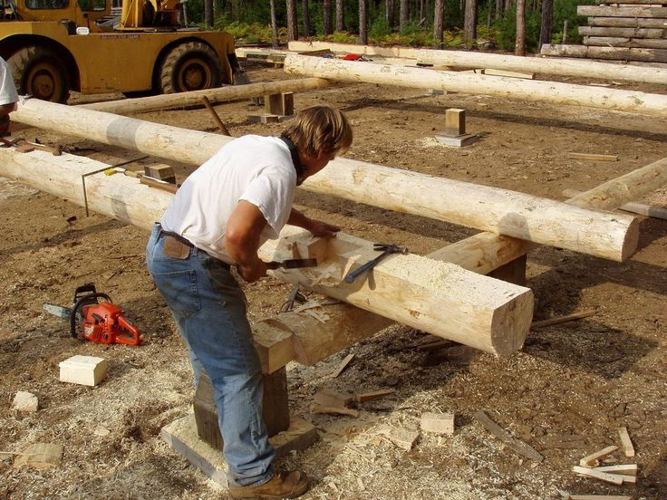 log house building - Google-haku