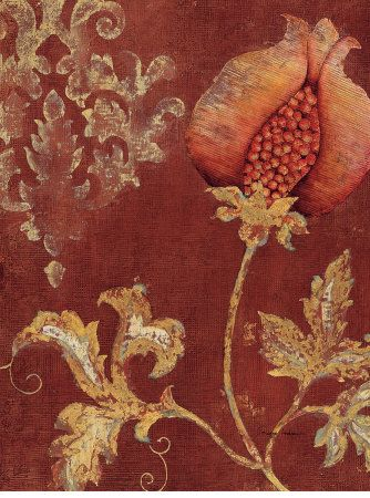 Pattern incentive for signage. Chateau Pomegranate 2 by Regina-Andrew Design,