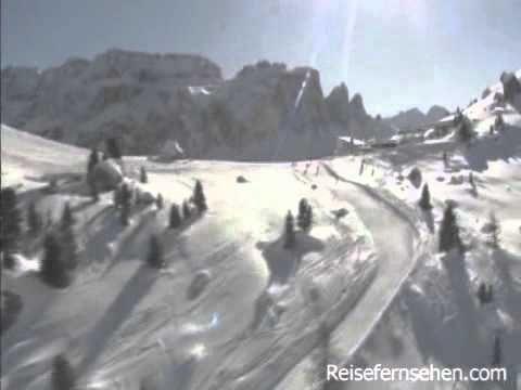 Wintersport-Region Dolomiten / Südtirol - Ski Dolomites / South Tyrol (Italy)