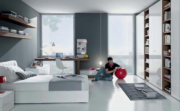 cool teen boy rooms   Teenage room designs » Youthfully Teenage Bedroom Ideas