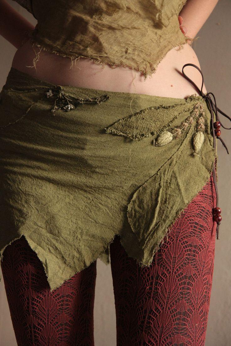 Autumn dance pixie wrap skirt.