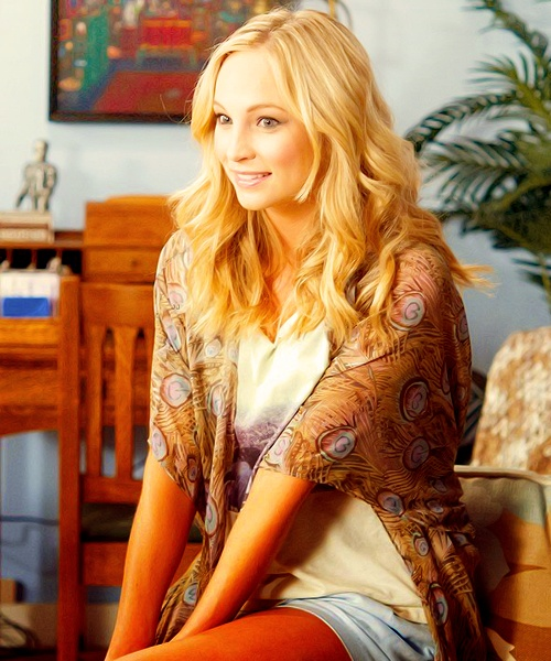 #TVD The Vampire Diaries  Caroline Forbes
