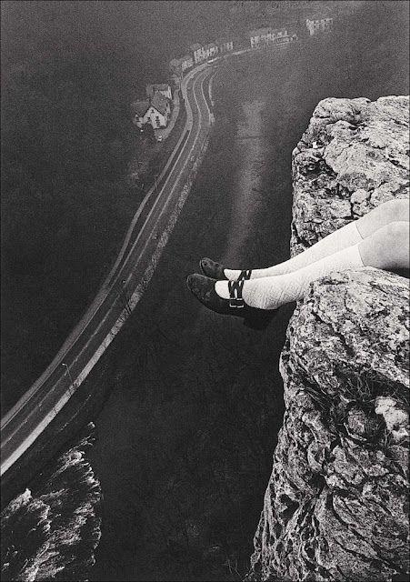 Paul Hill Legs over High Tor, Matlock, 1975