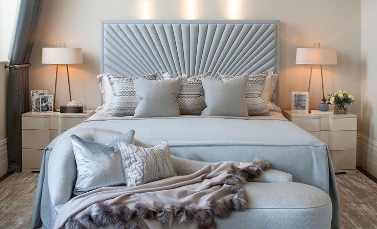 Hyde Park Luxury Apartment - Master Bedroom Detail - Interior Design by Intarya – Interior Design by Intarya