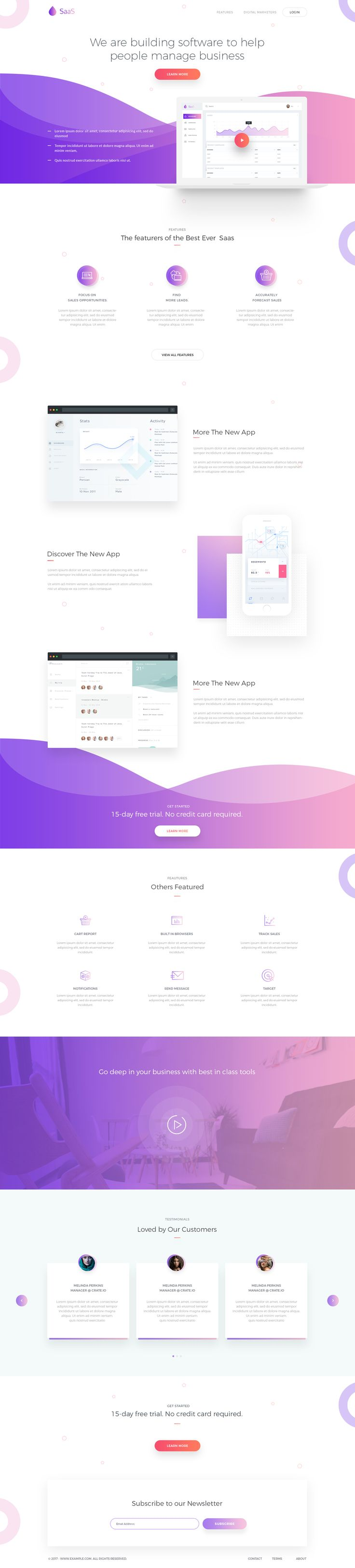 Dribbble - saas_2.png by Rono