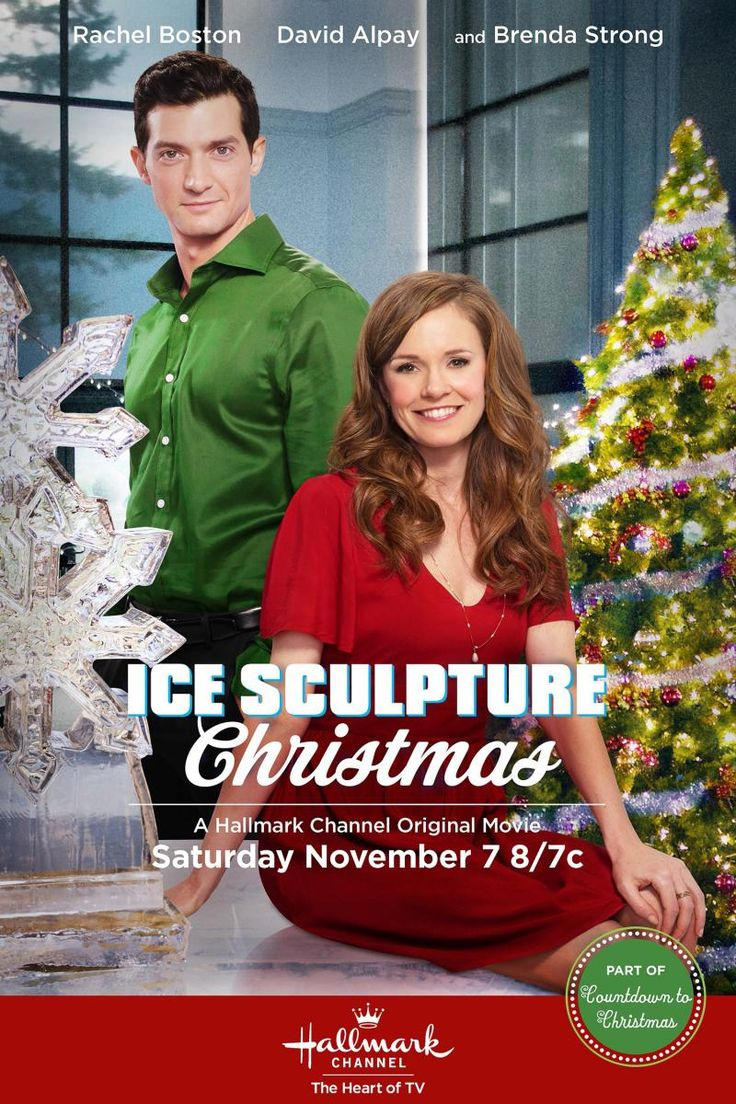 Ice Sculpture Christmas: After starting her first job at a country club restaurant, Callie – an aspiring chef – reconnects with her childhood friend David, whose wealthy family is a member of the club. When David enters Callie into the club's annual Christmas ice sculpting competition without her knowledge, she's forced to go head-to-head with her boss, Chef Gloria. Sparks are ignited between Callie and David as they prepare for the competition as a team.