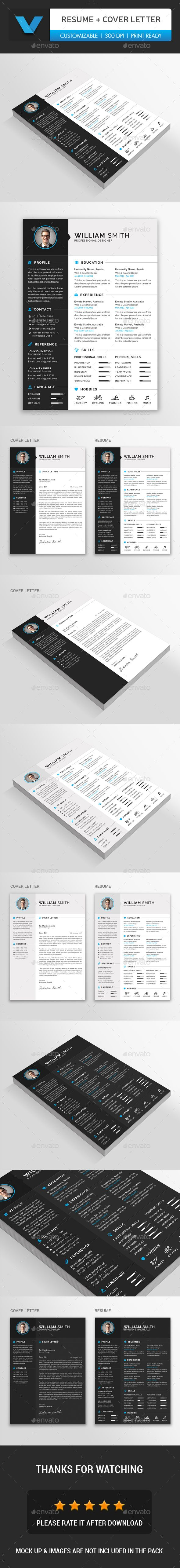 #Resume - Resumes Stationery Download here: https://graphicriver.net/item/resume/19584458?ref=alena994
