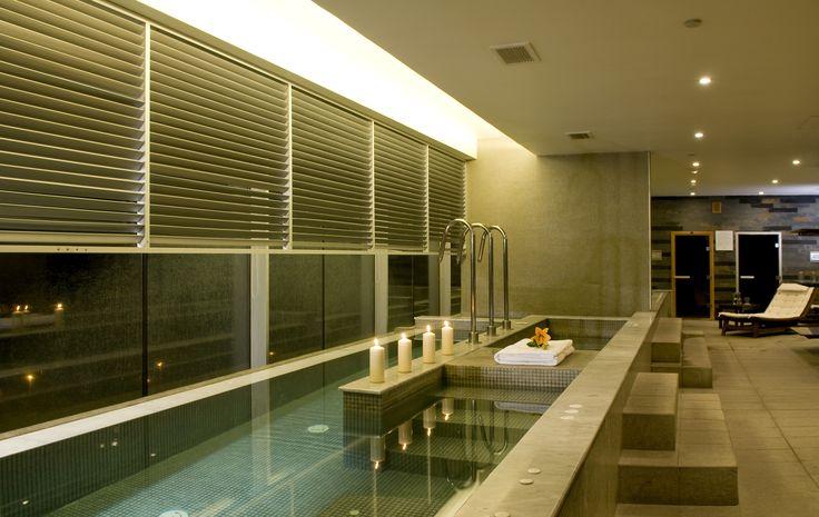 Así de bonito y relajante es el Spa de Enjoy Antofagasta.