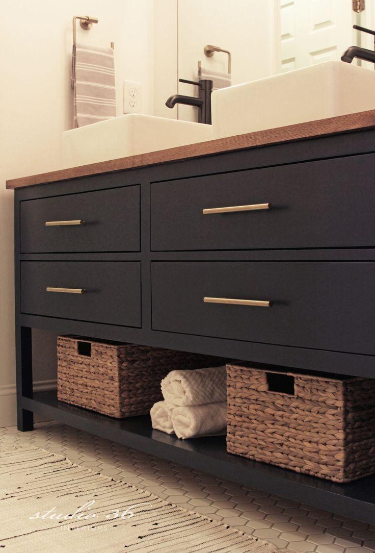 Best 25 Rustic Bathroom Vanities Ideas On Pinterest Wood Counter Bathroom Rustic Master