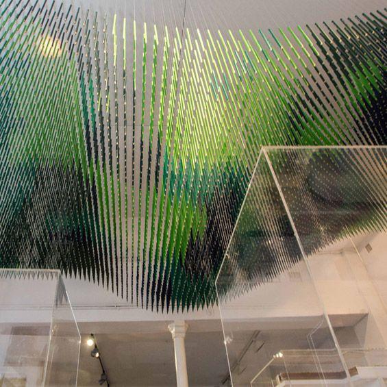 Le nouveau studio de design FØLSOM à réalisé la scénographie d'exposition consacrée à l'agence de l'architecte Patrick Schweitzer, S&AA, à l...