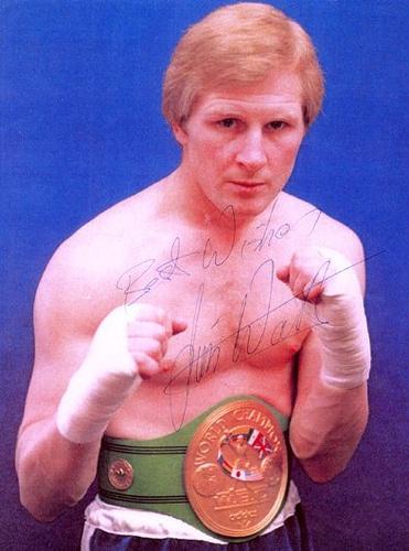 Former Lightweight World Champion Jim Watt