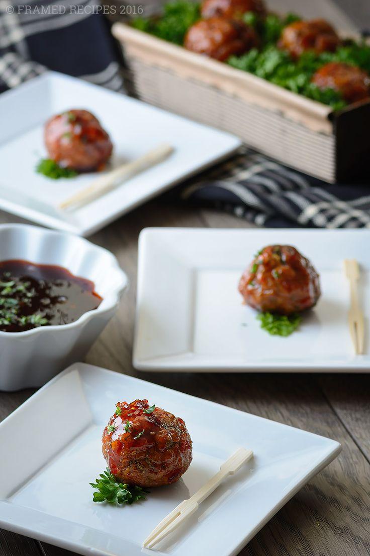 ... spicy brown sugar glaze baked turkey meatballs with spicy brown sugar