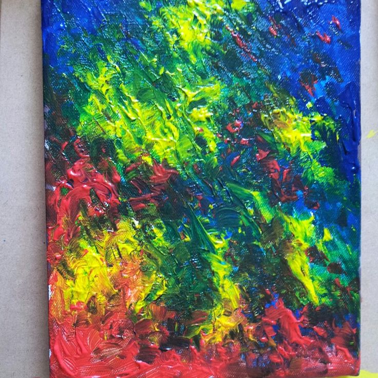 Painting - wild colors abstract