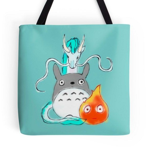 This eclectic movie tote ($18). | The Ultimate Gift Guide For All Your Miyazaki-Obsessed Friends