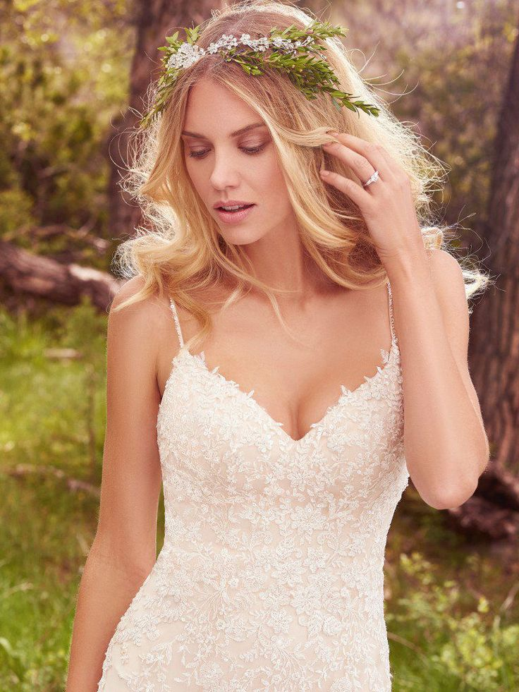"Maggie Sottero 2017 ""Avery"" Collection Wedding Dresses www.elegantwedding.ca"
