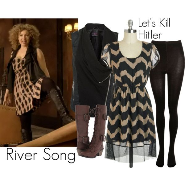 """""""River Song - Let's Kill Hitler"""" by ansleyclaire on Polyvore"""
