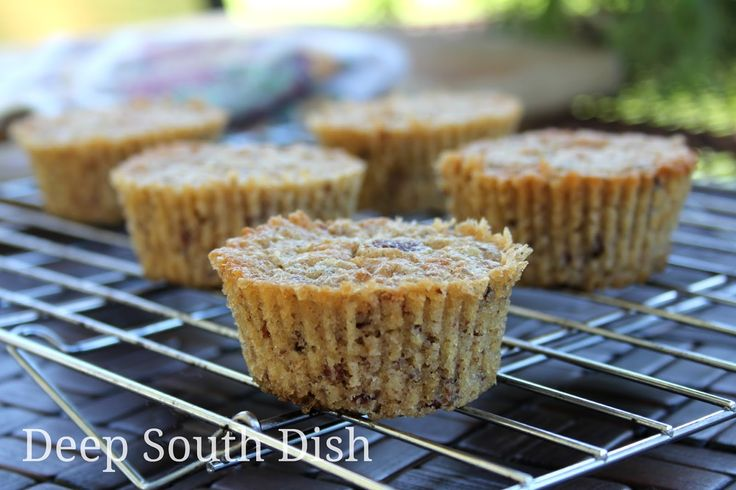 Southern Pecan Pie Muffins | Pecan Pie Muffins, Pecan Pies and Pecans