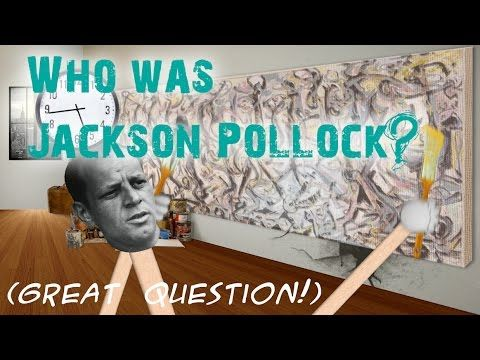 SPLAT: Pollock and the Science of Paint Viscosity - YouTube