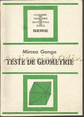 Teste De Geometrie - Mircea Ganga