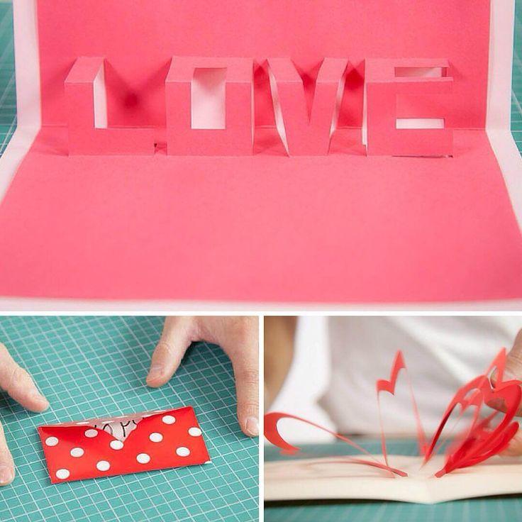 Sorprende a tu pareja con estas tarjetas de San Valentín hechas a mano con cartulinas de colores o papel de regalo. ¡Porque no todo tiene que ser comprado!